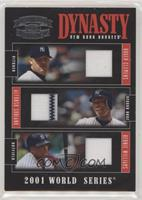 Alfonso Soriano, Bernie Williams, Roger Clemens /50