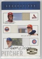 Bob Gibson, Mark Prior, Nolan Ryan #/50