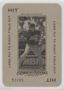 2005 Donruss Throwback Threads - Polo Grounds - Hit Long Fly to Right Field-Out 65 #PG-13 - Mark Kotsay /65
