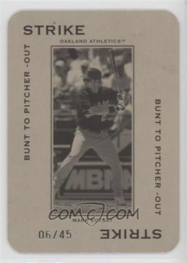 2005 Donruss Throwback Threads - Polo Grounds - Strike Bunt to Pitcher-Out 45 #PG-13 - Mark Kotsay /45