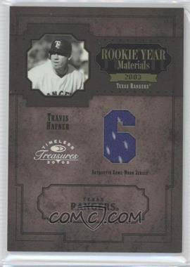2005 Donruss Timeless Treasures - [???] #RYM-49 - Travis Hafner