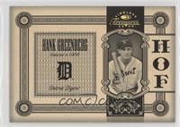 Hank Greenberg #12/25