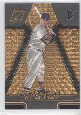 2005 Donruss Zenith - [Base] - Artist's Proof Gold #241 - Ted Williams /50