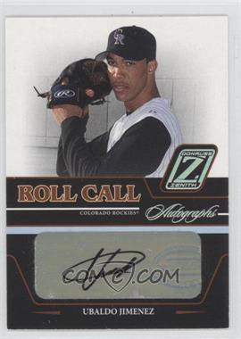 2005 Donruss Zenith - Roll Call Autographs #RC-25 - Ubaldo Jimenez
