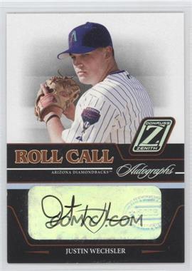 2005 Donruss Zenith - Roll Call Autographs #RC-3 - Justin Wechsler