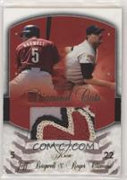 Jeff Bagwell, Roger Clemens (Patch) #/20