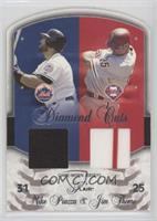Mike Piazza, Jim Thome /50