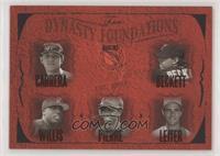Miguel Cabrera, Josh Beckett, Dontrelle Willis, Juan Pierre, Al Leiter #/93