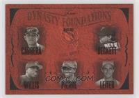 Miguel Cabrera, Josh Beckett, Dontrelle Willis, Juan Pierre, Al Leiter #/500