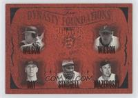 Gary Wilson, Jack Wilson, Jason Bay, Willie Stargell, Bill Mazeroski /500