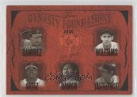 Manny Ramirez, David Ortiz, Johnny Damon, Carl Yastrzemski, Ted Williams /500