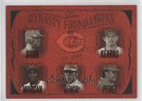 Adam Dunn, Austin Kearns, Joe Morgan, Johnny Bench, Tony Perez /500