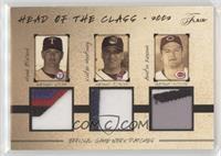 Hank Blalock, Victor Martinez, Austin Kearns /33