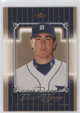 2005 Fleer Classic Clippings - [Base] #125 - Justin Verlander