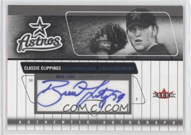 2005 Fleer Classic Clippings - Diamond Signings - Blue #DS-BL - Brad Lidge