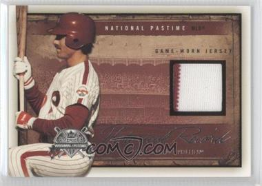 2005 Fleer National Pastime - Historical Record - Jersey [Memorabilia] #HR-MS - Mike Schmidt