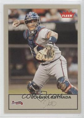 2005 Fleer Tradition - [Base] - Grey Back #21 - Johnny Estrada