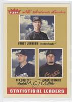 Ben Sheets, Jason Schmidt, Randy Johnson