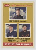 Ben Sheets, Jason Schmidt, Randy Johnson