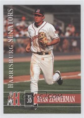 2005 Grandstand Harrisburg Senators - [Base] #16 - Ryan Zimmerman