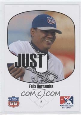 2005 Just Minors - Beckett Insert Just 9 #1 - Felix Hernandez