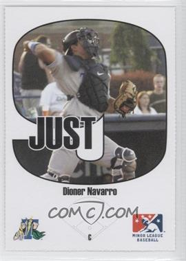 2005 Just Minors - Beckett Insert Just 9 #2 - Dioner Navarro