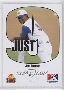 2005 Just Minors - Beckett Insert Just 9 #6 - Joel Guzman