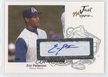 2005 Just Minors - Just Autographs - Autographs [Autographed] #49 - Eric Patterson