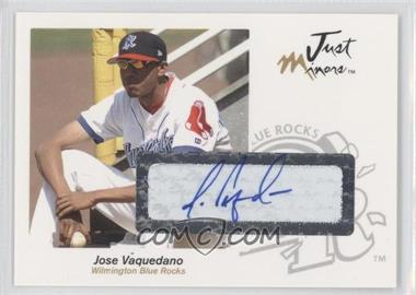 2005 Just Minors - Just Autographs - Autographs [Autographed] #65 - Jose Vaquedano