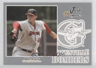 2005 Just Minors - Just Autographs - Silver #56 - Michael Rozier /200