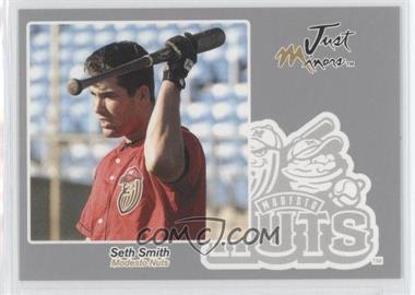 2005 Just Minors - Just Autographs - Silver #60 - Seth Smith /200