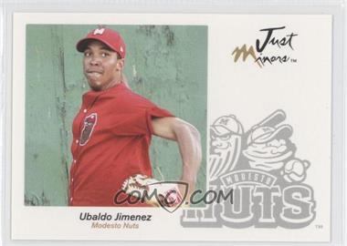 2005 Just Minors - Just Autographs #33 - Ubaldo Jimenez