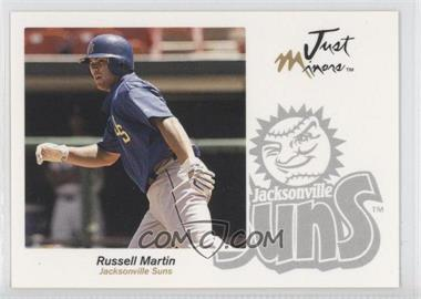 2005 Just Minors - Just Autographs #45 - Russell Martin