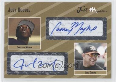 2005 Just Minors - Just Double Autographs - Gold #JD.go.N/A - Joel Zumaya /10