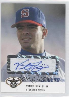 2005 Just Minors - Just Stars - Autographs [Autographed] #52 - Vince Sinisi