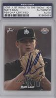 Matt Cain [PSA/DNA Certified Encased]