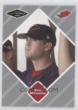 2005 Just Minors - Justifiable - Silver #58 - Mark McCormick /200