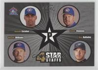 Kelvim Escobar, Woody Williams, Roy Halladay, Roger Clemens