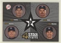 Andy Pettitte, David Wells, Roger Clemens, Mike Mussina