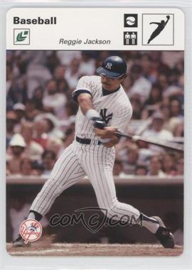 2005 Leaf - Sportscasters - White Jumping Ball #38 - Reggie Jackson /45