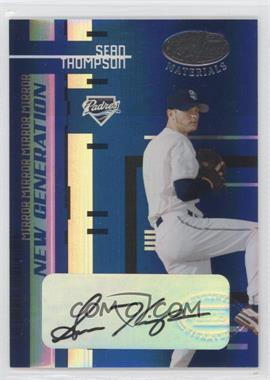 2005 Leaf Certified Materials - [Base] - Mirror Blue Signatures [Autographed] #238 - Sean Thompson /15