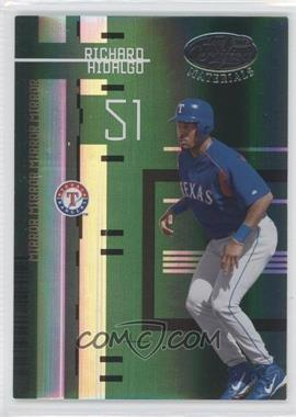 2005 Leaf Certified Materials - [Base] - Mirror Emerald #126 - Richard Hidalgo /5