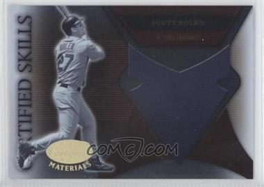 2005 Leaf Certified Materials - Certified Skills #CS-21 - Scott Rolen