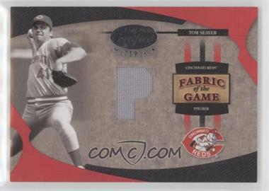 2005 Leaf Certified Materials - Fabric of the Game - Position #FG-117 - Tom Seaver /5