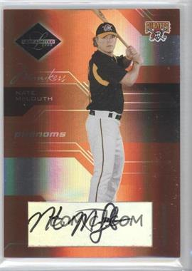 2005 Leaf Limited - [Base] - Monikers Bronze [Autographed] #189 - Nate McLouth /50