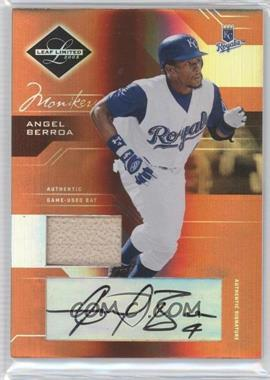 2005 Leaf Limited - [Base] - Monikers Bronze Materials Bats [Autographed] [Memorabilia] #147 - Angel Berroa /100