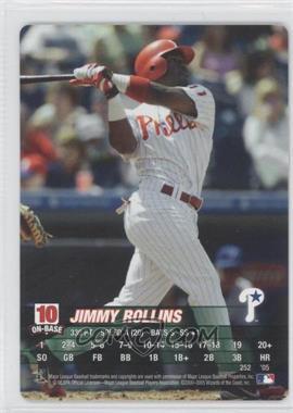 2005 MLB Showdown - [Base] #252 - Jimmy Rollins