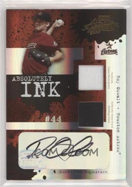 2005 Playoff Absolute Memorabilia - Absolutely Ink - Spectrum Double Materials [Memorabilia] #AI-84 - Roy Oswalt /10