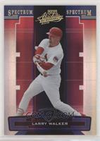 Larry Walker [EX to NM] #/50