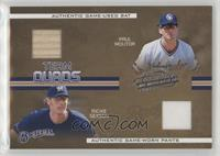 Paul Molitor, Richie Sexson, Lyle Overbay, Geoff Jenkins #/100
